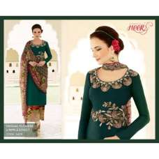 H5409 Dark Green HEER KIMORA WEDDING WEAR
