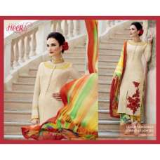 H5410 Beige HEER KIMORA WEDDING WEAR