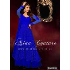 HR5038-E ROYAL BLUE HEROINE PRIYANKA CHOPRA ANARKALI STYLE DRESS
