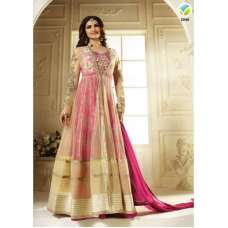K2948 Pink And Gold KASEESH PRACHI Anarkali Wear