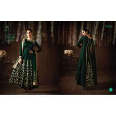 Eid Party Wedding Green Matching Mother Daughter Designer Suit