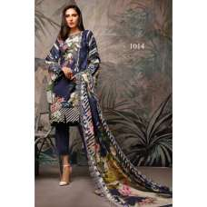 Royal Blue Printed Lawn Pakistani Salwar Suit