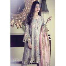MARIAB EMBROIDERED CHIFFON SUIT
