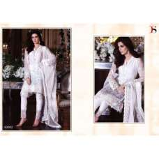 BD-1001 WHITE MARIA.B. MBROIDERED PARTY WEAR DRESS