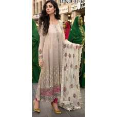GREY MARIA B LUXURY READY TO WEAR SPRING LAWN SUIT