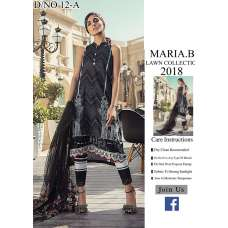 BLACK MARIA B LUXURY READY TO WEAR SPRING LAWN SUIT