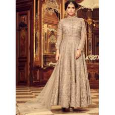 43002 BEIGE MOHINI GLAMOUR DESIGNER DRESS SUIT (2 weeks delivery)