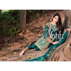 M1261 GREEN MOTIFZ INSPIRED PAKISTANI QUALITY COPY