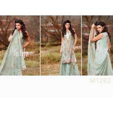 M1262 LIGHT GREEN MOTIFZ INSPIRED PAKISTANI QUALITY COPY