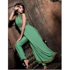 MS16004 Green MAISHA MASKEEN Dress