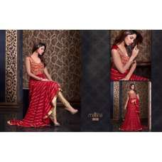 MS2306 - RED MAISHA HARMAN PARTY WEAR SUIT