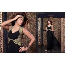 MS2309 - Black MAISHA HARMAN PARTY WEAR SUIT