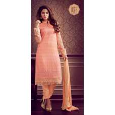 10143 LIGHT ORANGE RSF RIYAL INDIAN PARTY WEAR SUIT