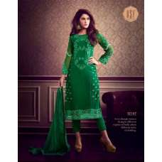 10147 GREEN RSF RIYAL INDIAN PARTY WEAR SUIT
