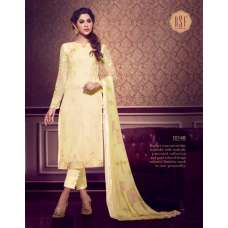 10148 LEMON COLOUR RSF RIYAL INDIAN PARTY WEAR SUIT