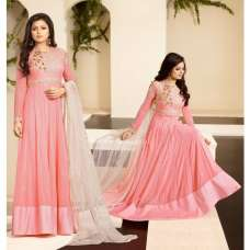 86005 PINK AND CREAM NITYA PARTY WEAR DESIGNER SUIT
