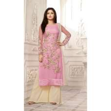 86010 PINK AND BEIGE NITYA PARTY WEAR DESIGNER SUIT