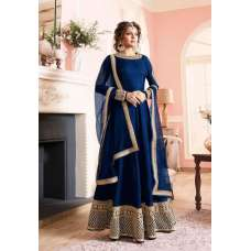 LT-97003 ROYAL BLUE NITYA DESIGNER ANARKALI STYLE DRESS