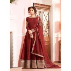 LT-97007 MAROON NITYA DESIGNER ANARKALI DRESS