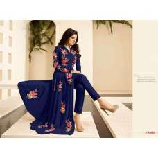 86003-A BLUE LT NITYA PURE GEORGETTE PARTY WEAR DESIGNER SUIT