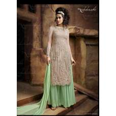 NKC2302 Green Nakkashi  EID AND PARTY WEAR SUIT