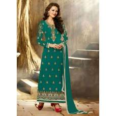 Stunning Peacock Aarya Party Wear Georgette Salwar Kameez