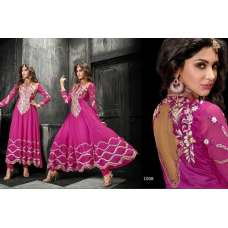 Princess Simayaa 1008 Dark Pink Wedding Wear Anarkali Dress