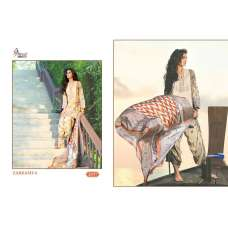2037 ZARKASH-4 PRINTED CAMBRIC COTTON READY MADE SUIT