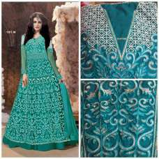 Z18001-I TURQUOISE ZOYA EMERALD WEDDING DRESS